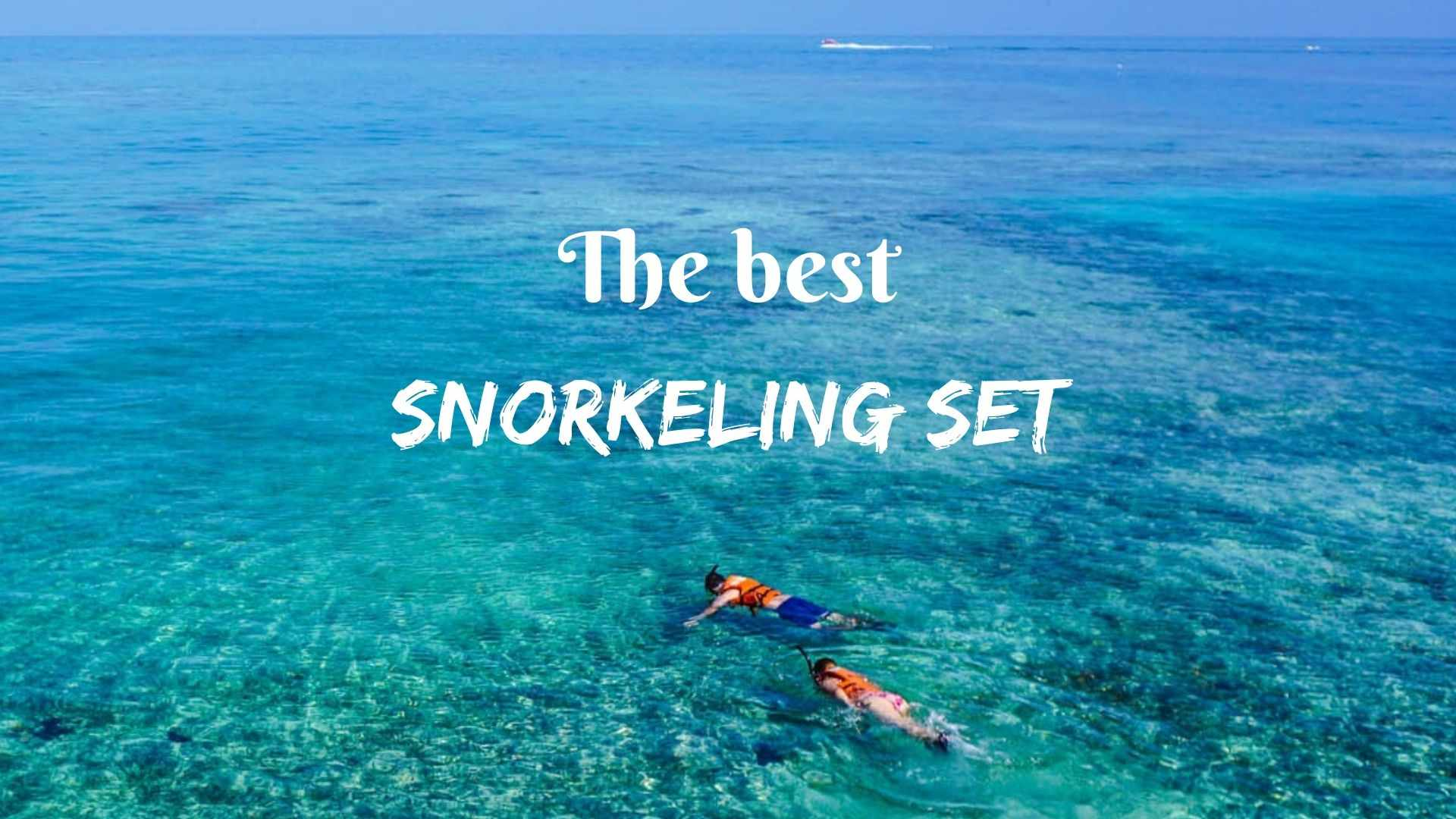 The best snorkeling set for diving