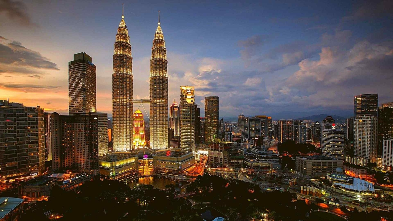 Petronas Twin Towers and KLCC Park