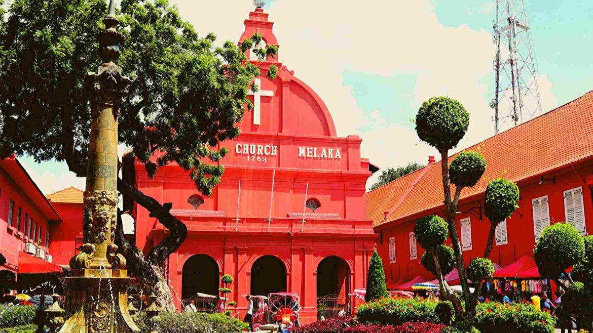 Places to visit in Melaka- Dutch Square and Christ Church