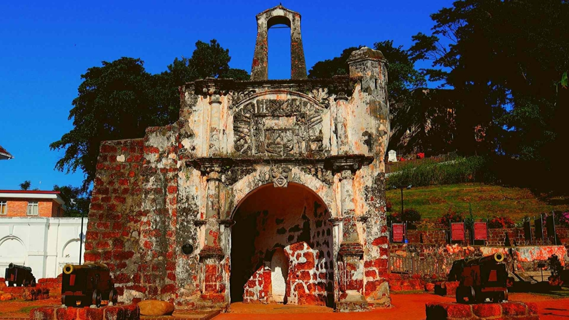 Places to visit in Melaka- A Famosa