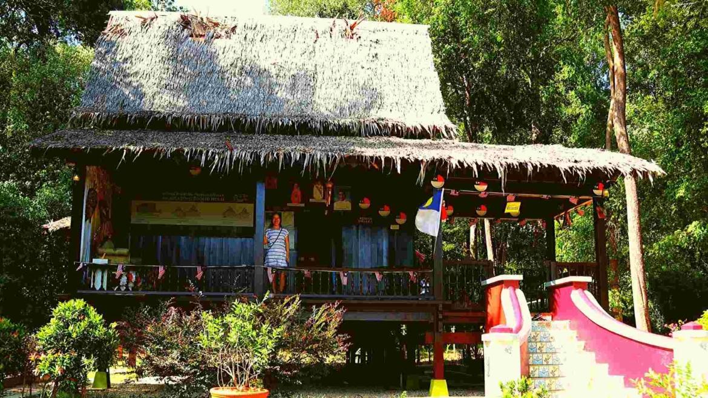 Melaka house in Taman Mini Malaysia & ASEAN Park