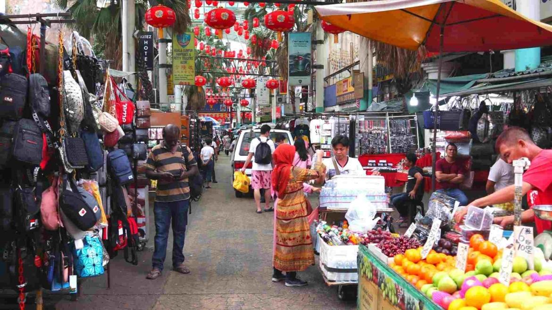 Petaling Street Market in Chinatown