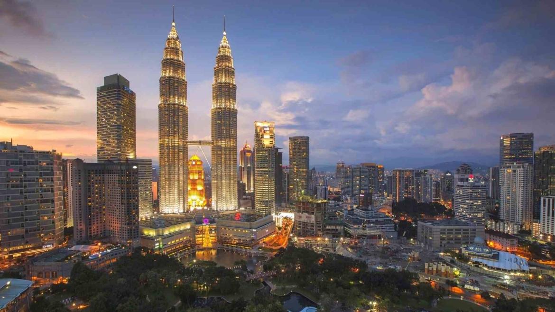 One of the Malaysian symbols- Petronas Twin Towers in Kuala Lumpur