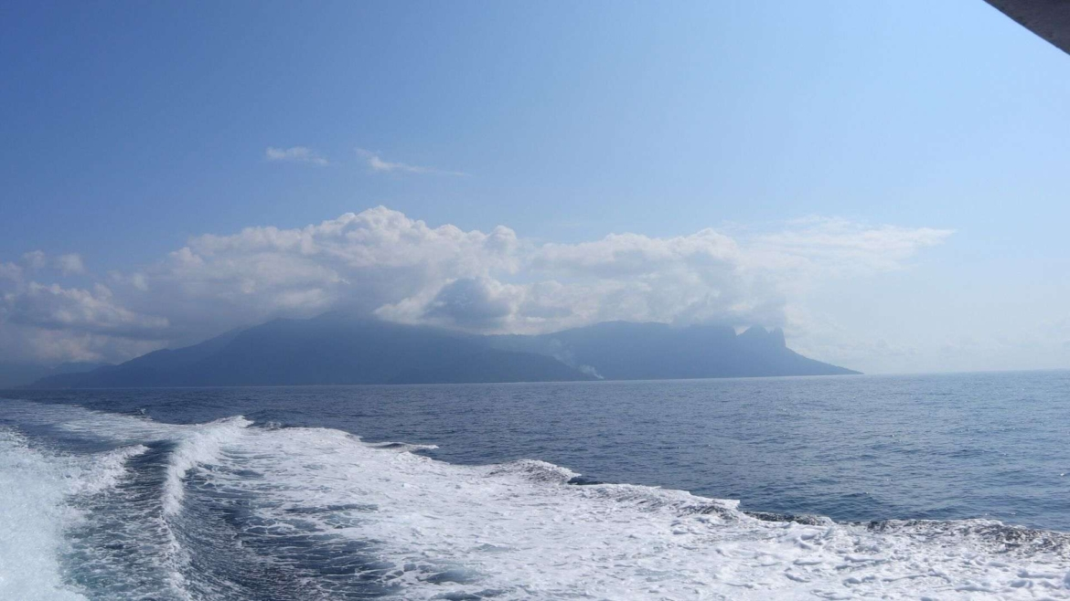 View from the ferry from Tioman Island to Mersing