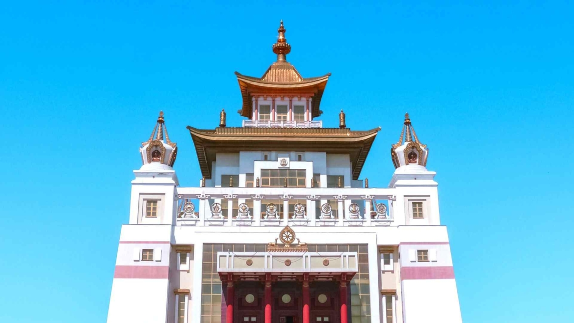 Traditional building in Kalmykia