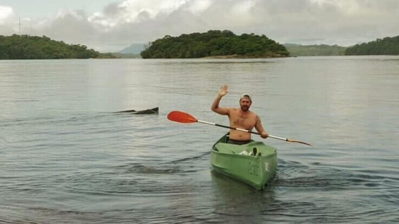 Philip Lhamsuren in Amazonia