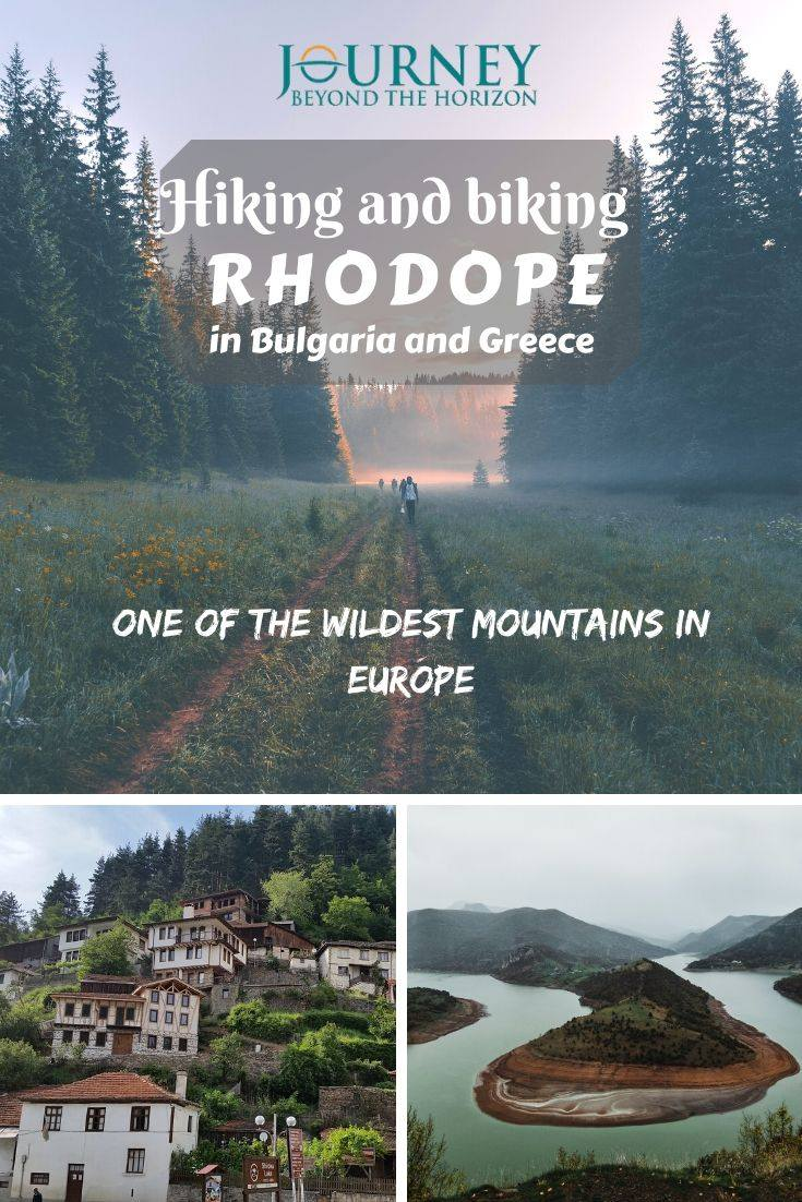 Hiking and biking Rhodope Mountains, in Bulgaria and Greece- one of the wildest mountain systems in Europe