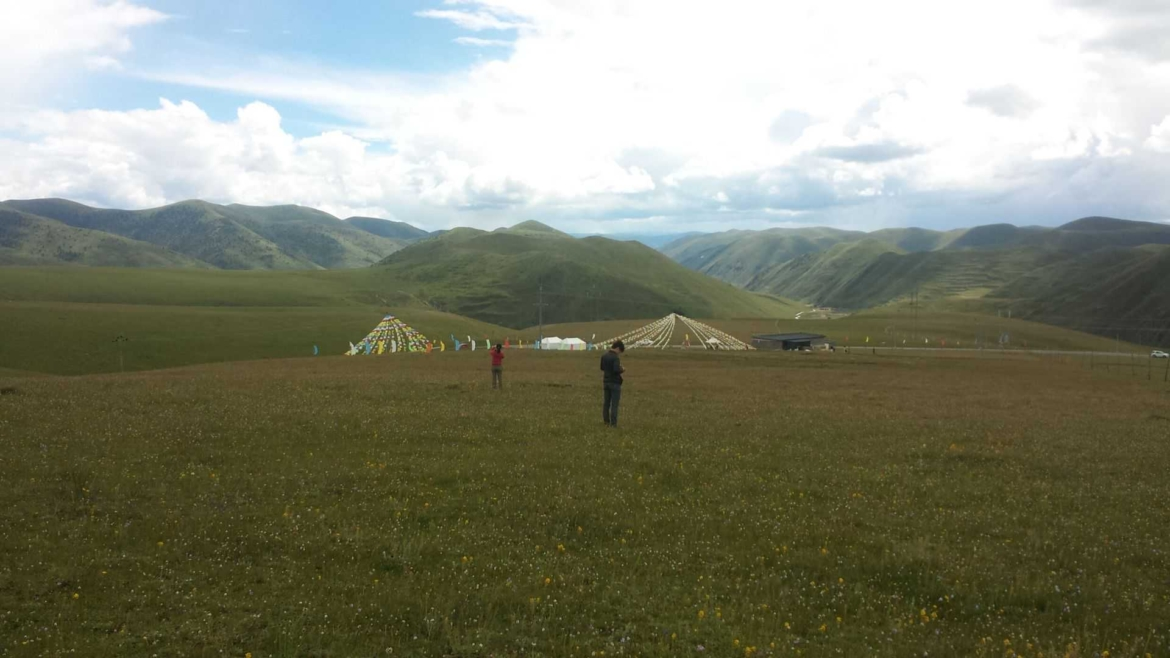 On the grasslands of Tagong