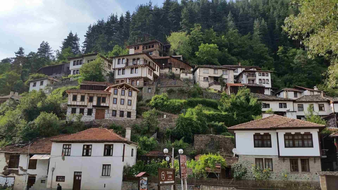 A village in Rhodope Mountains