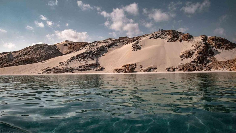 The coast of Socotra Island