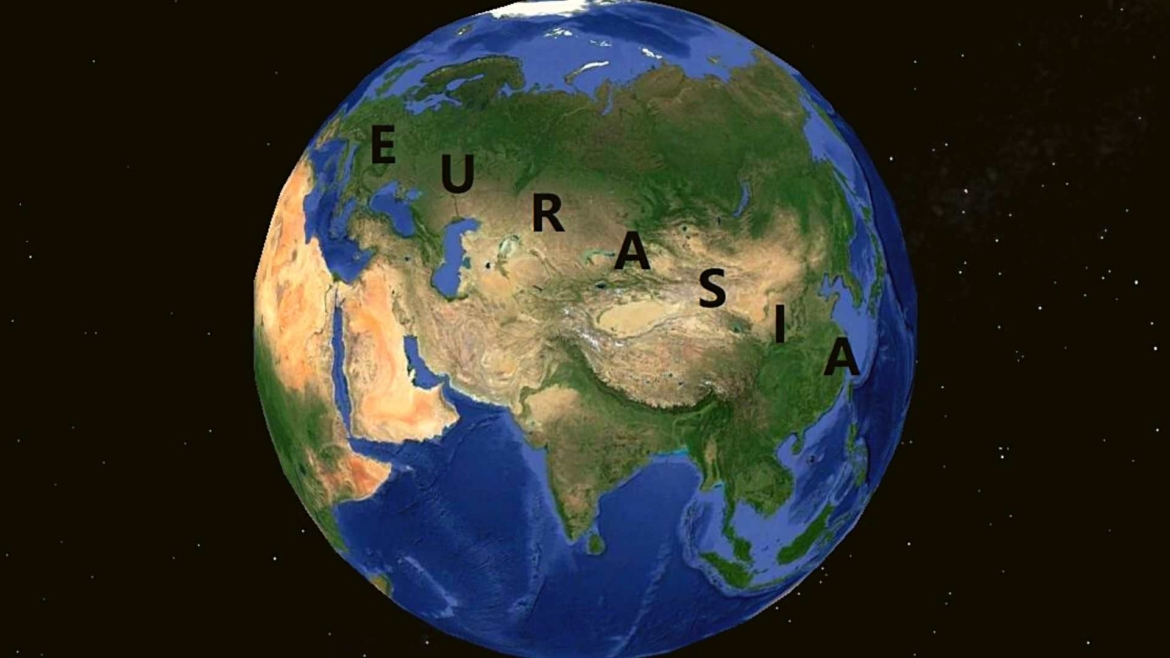 Eurasia- no physical division between Europe and Asia