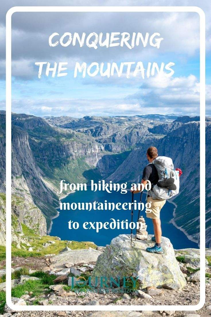 Conquering the mountains- travel tips about hiking, biking, kayaking, skiing, climbing, mountaineering, long trekking and expeditions.