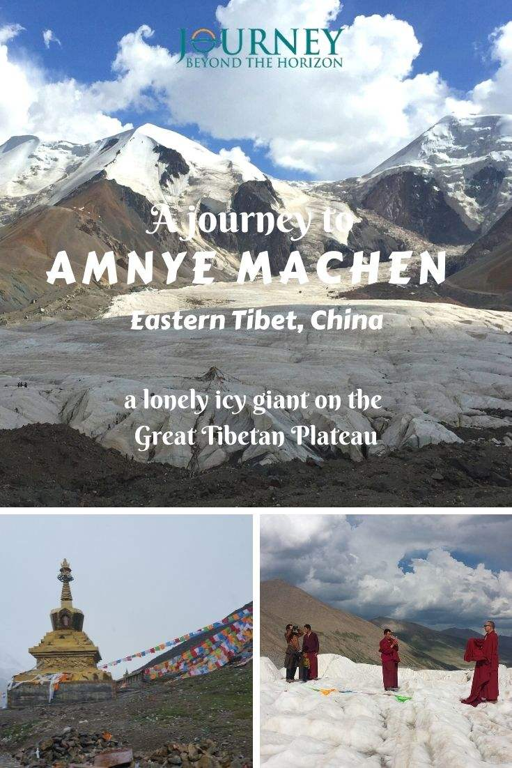 Let's make a journey deep on the Great Tibetan Plateau, to the lonely icy mountain of Amnye Machen, Eastern Tibet!