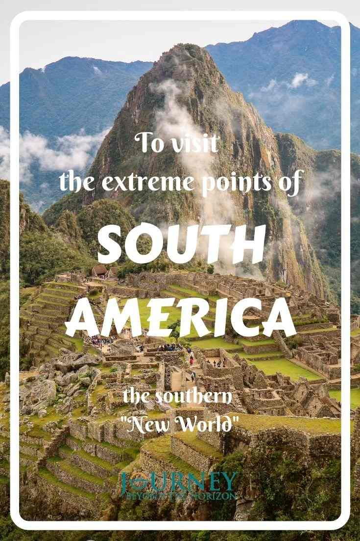 Let's explore the continent of South America- its extreme points on the west, east, north, south and in the middle! Geographical guide.