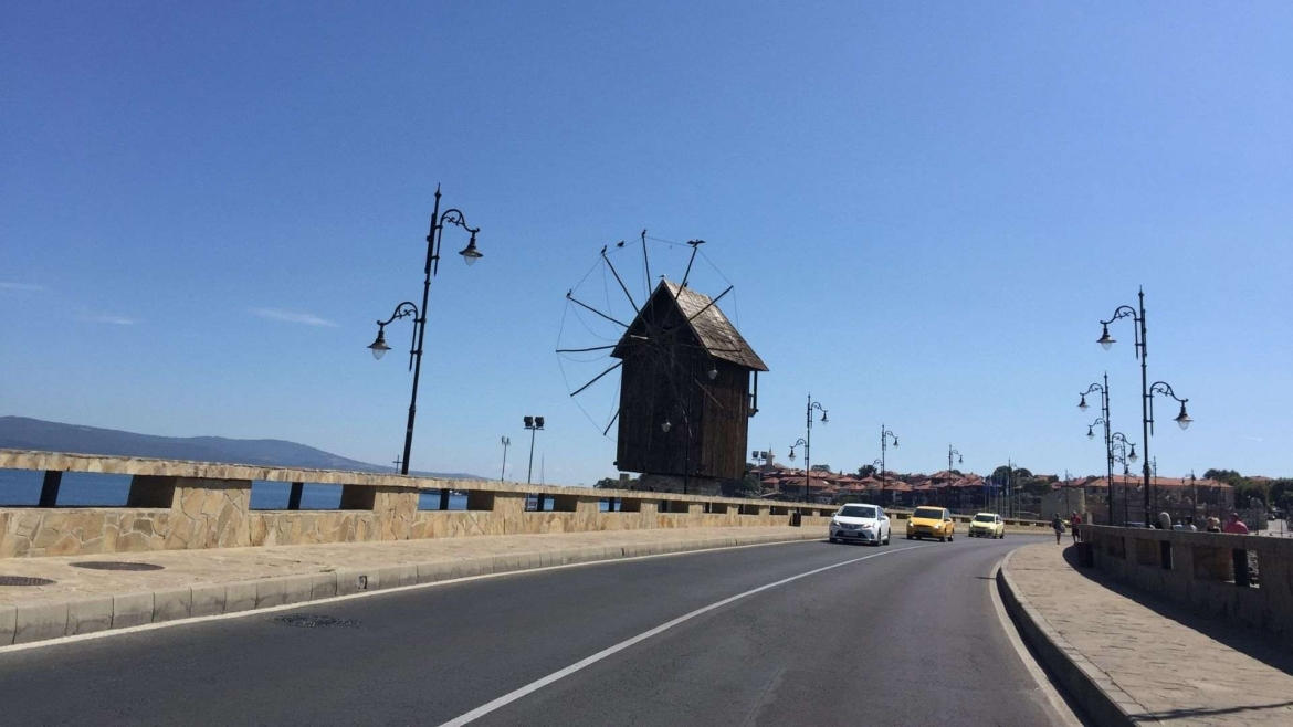 The Isthmus of Nessebar and the Windmill