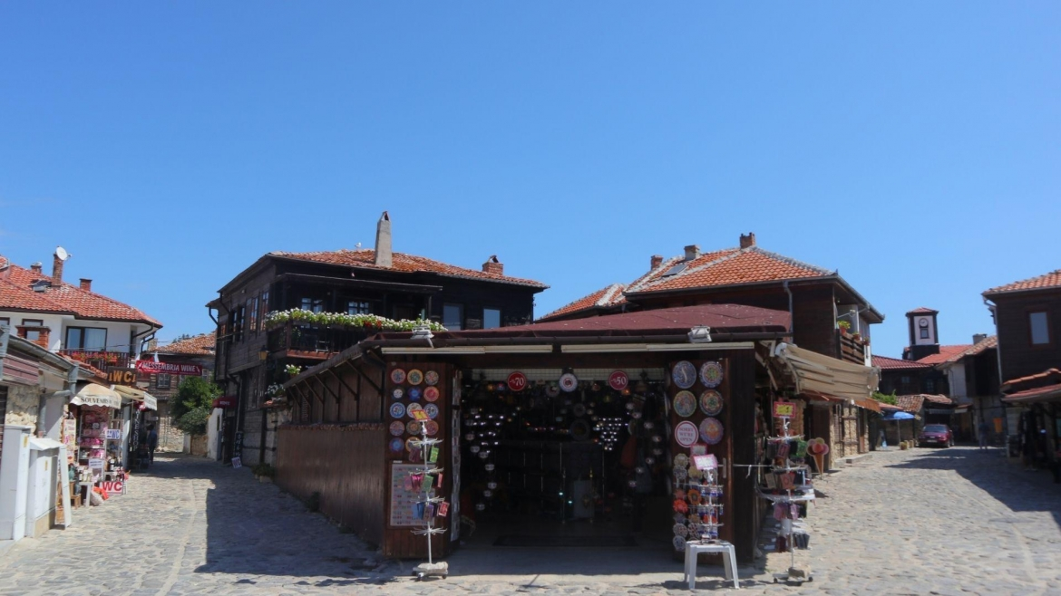 On the streets of the old Nessebar