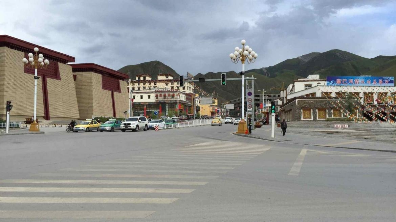 Around the center of Yushu
