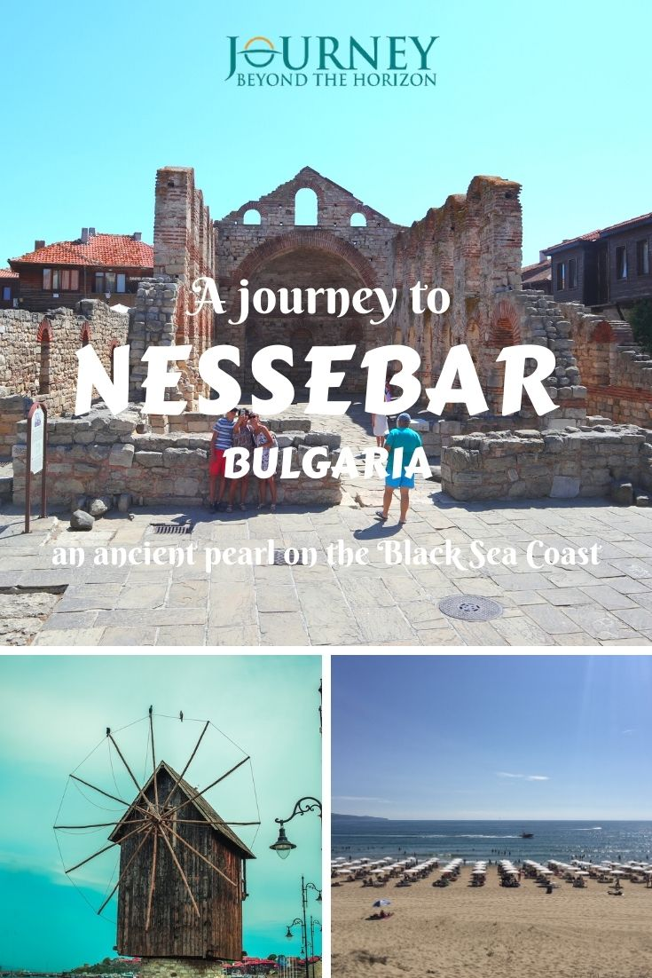 A guide to Nessebar, Bulgaria. Let's dive into the ancient history, picturesque Revival streets and the stunning sand beaches of Nessebar and Sunny Beach, on the Black Sea Coast!