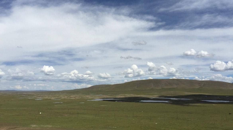 The wildest part of Eastern Tibet- highland tundra in Bayan Har near Yushu