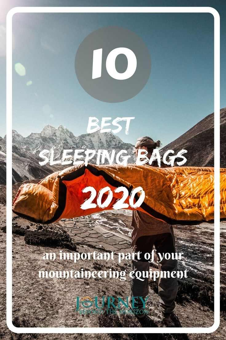 A guide to the best sleeping bags for 2020, as an important part of your mountain equipment, with useful tips.