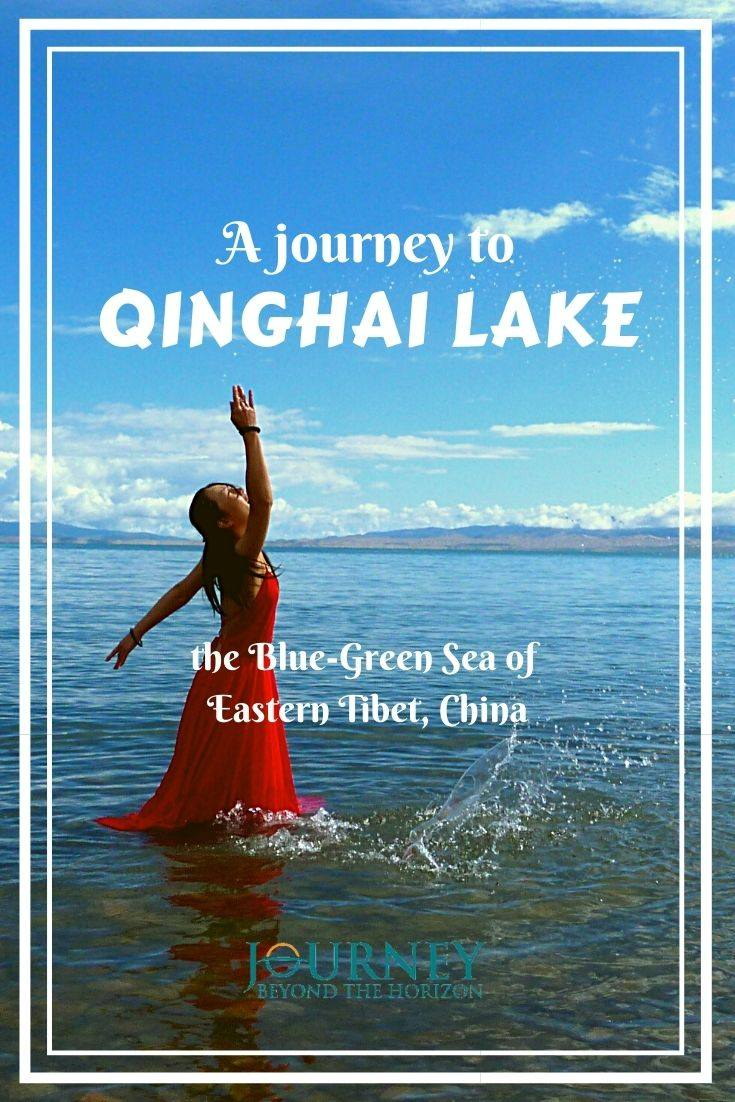 A journey to Qinghai Lake, the Blue-Green Sea of Eastern Tibet, China. A guide to Qinghai Lake- the largest lake in Eastern Tibet and the whole of China. Basic facts, places to visit, things to do, more tips.