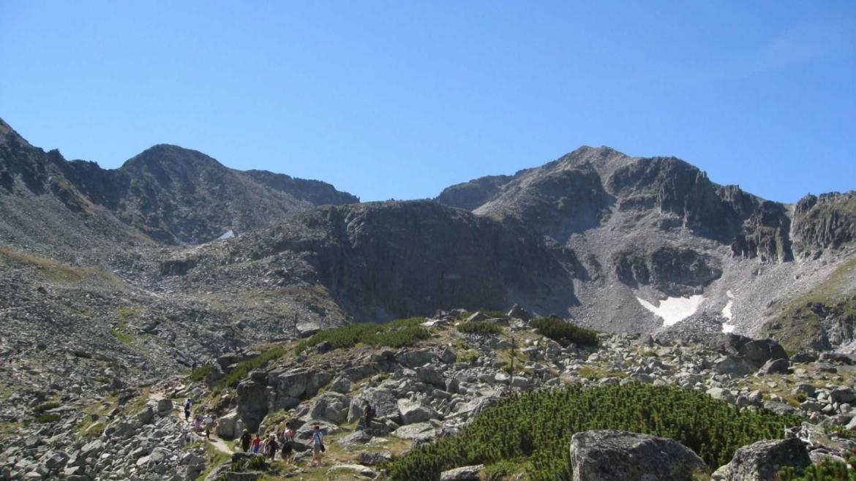 Mt. Musala, the highest peak in East Europe