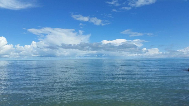 Qinghai Lake, where water meets sky