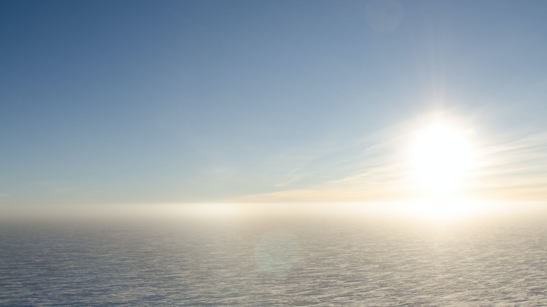 The Pole of Inaccessibility of Antarctica- the endless emptyness