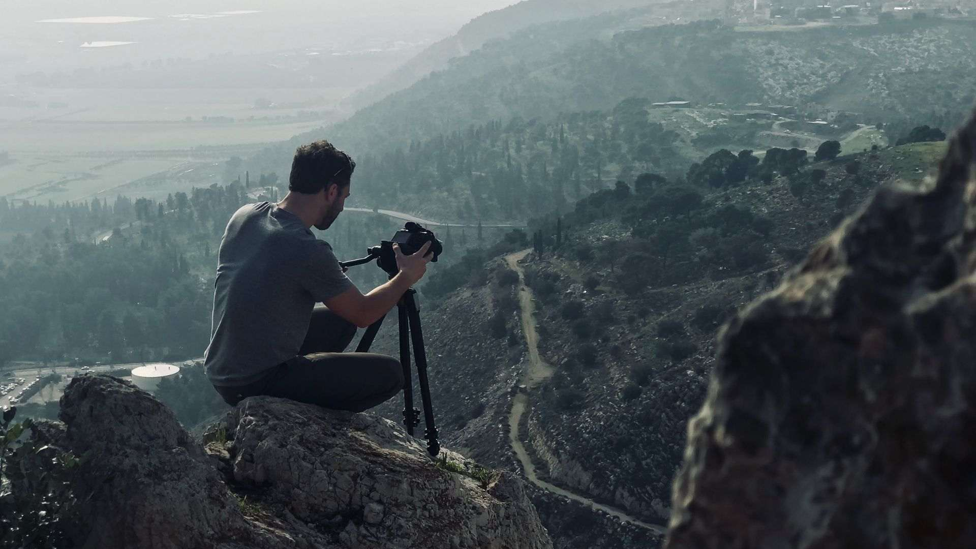 Camera in the mountain