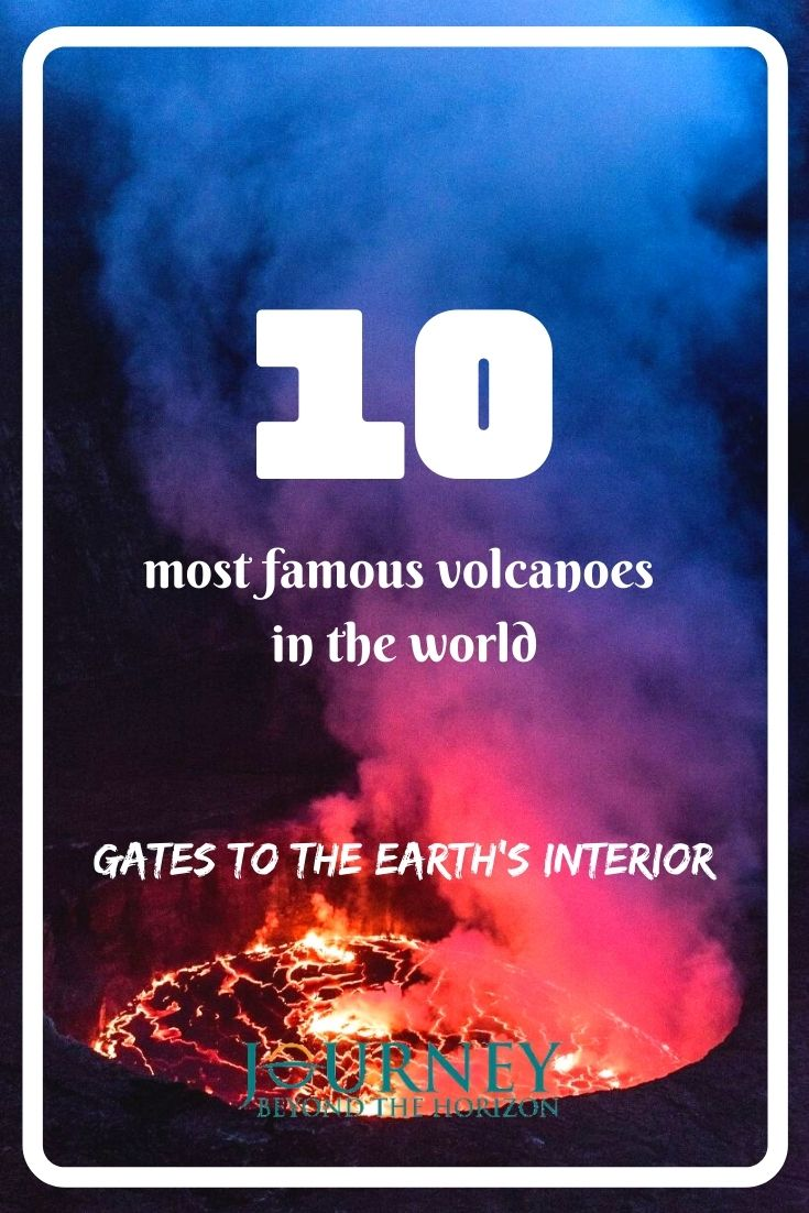 A guide to the most famous volcanoes in the world- why are they famous, what makes them unique, and what dangers and adventures can you find there.