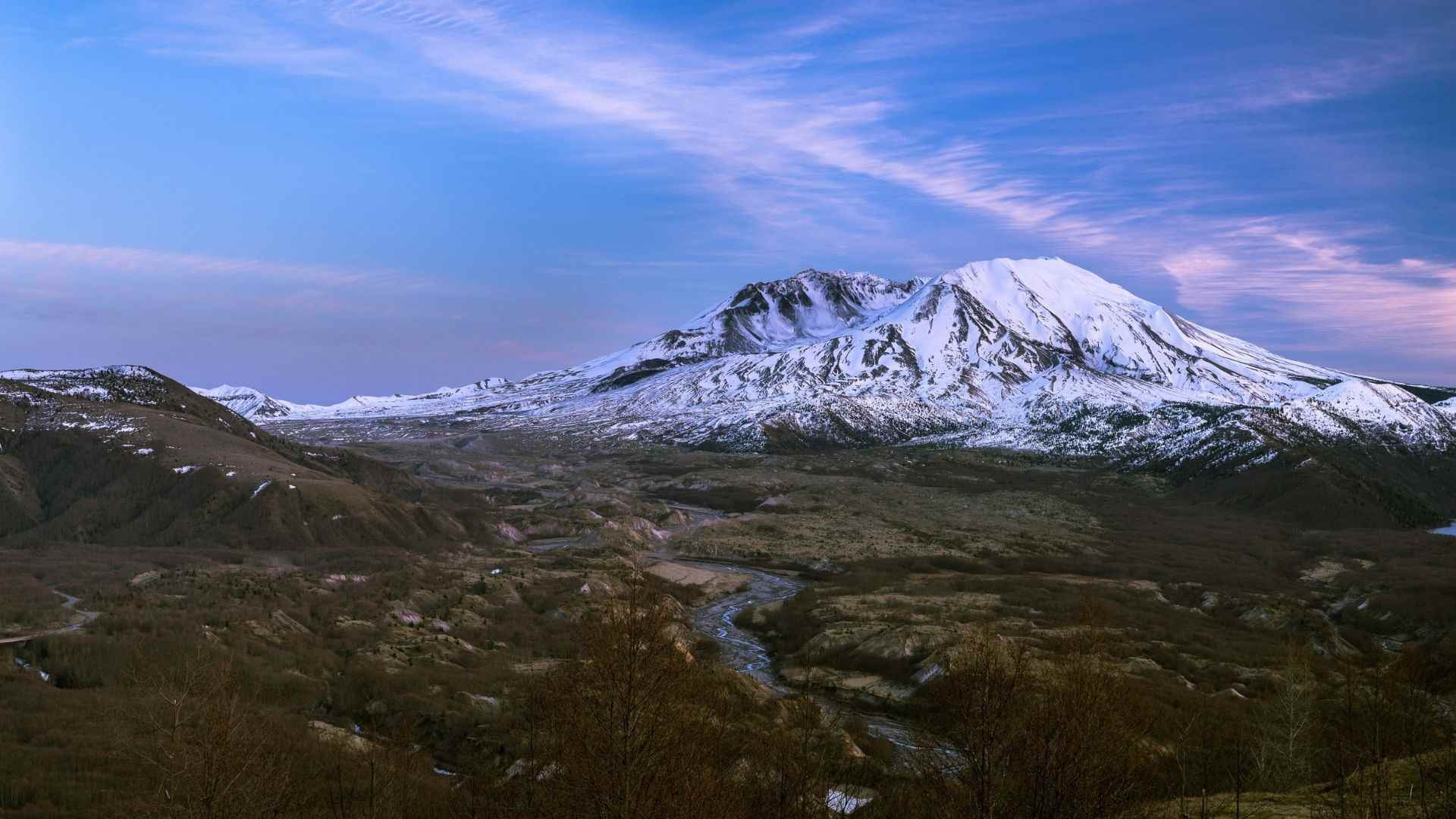 Mount St. Helens today
