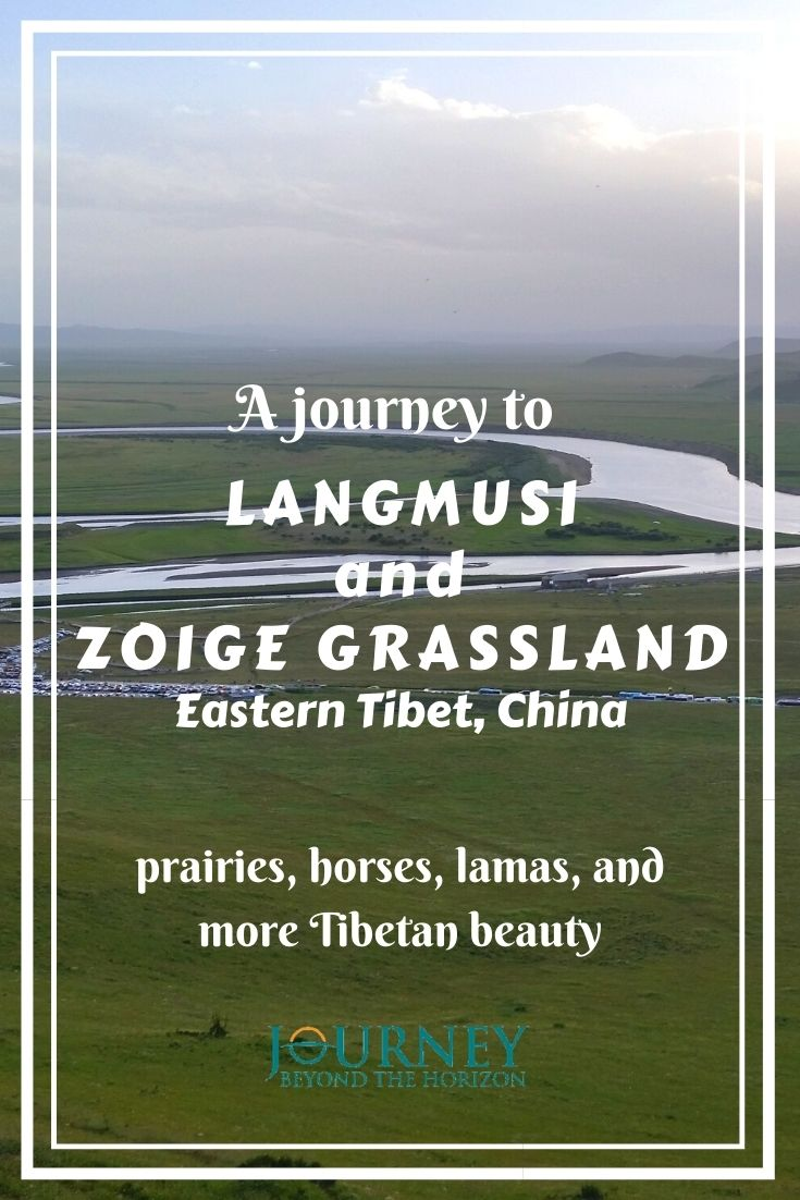A journey to Langmusi (Taktsang Lhamo) and Zoige (Ruoergai) Grassland- prairies, horses, lamas, and more Tibetan Beauty. A guide to this beautiful area in Eastern Tibet, China.