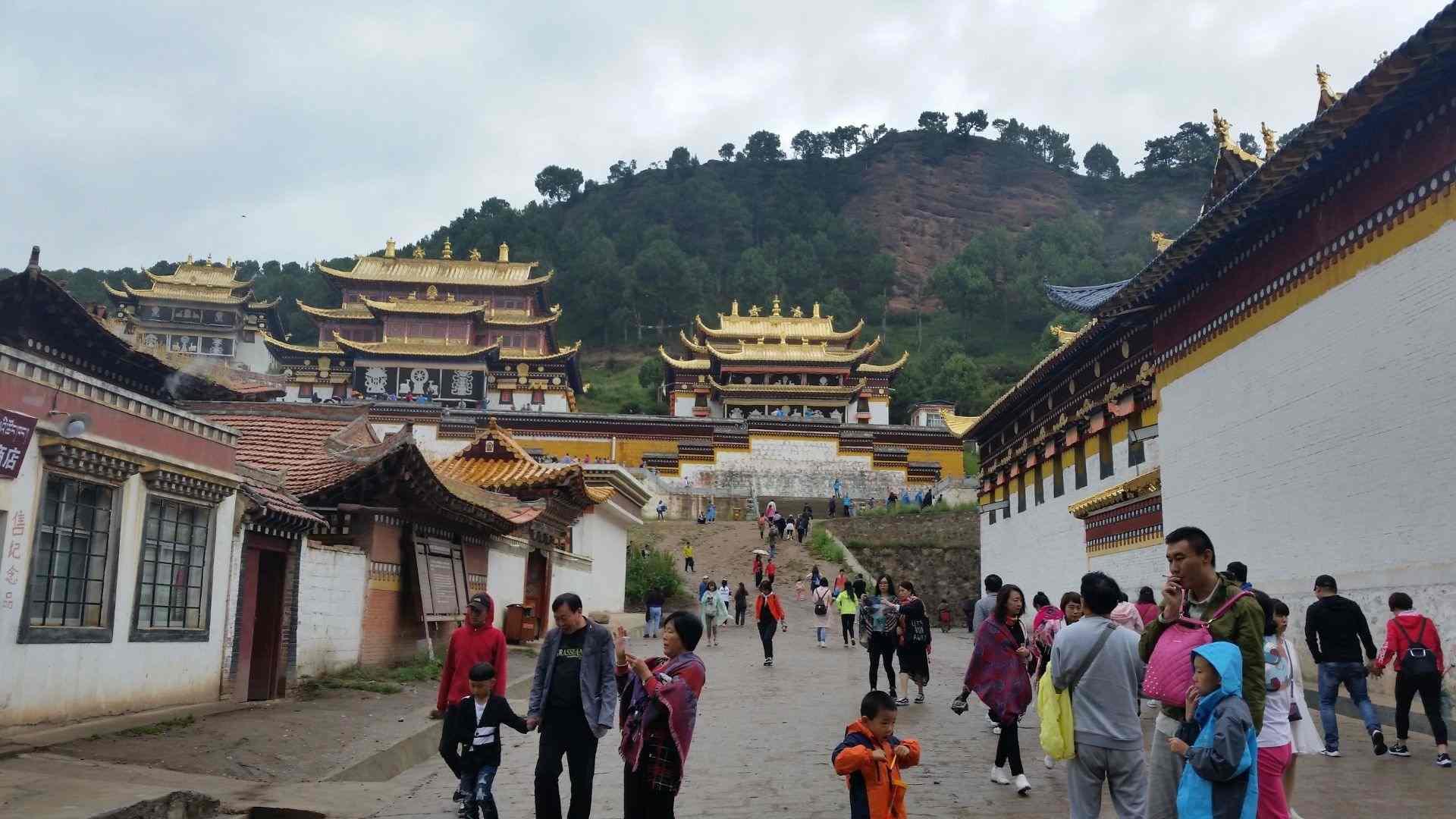 Sertri Monastery in Langmusi