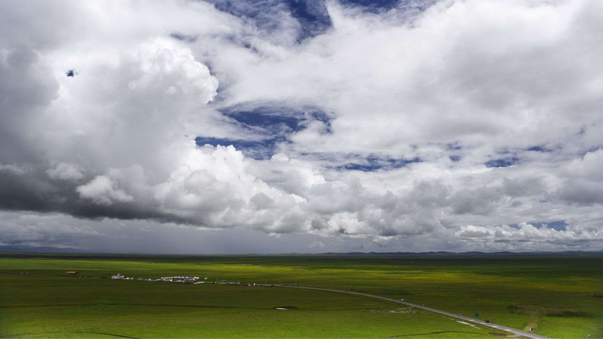 The endless Zoige Grassland